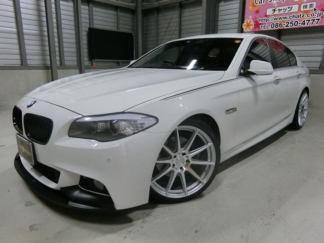 BMW 528iハイライン 外フルエアロ外20AWローダウン黒本革