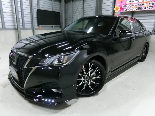 トヨタ アスリートS-T マツダスピードコンプリート SR黒革ナビ
