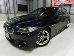BMW523i Mスポーツ 黒本革HDDフルセグ 純AW HID