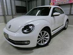 VW ザ・ビートルデザインレザーPKG 1オーナーターボ黒革HIDナビフルセグ
