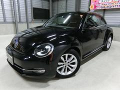 VW ザ・ビートルデザインレザーPKG ターボ 黒革ナビフルセグHID 純AW