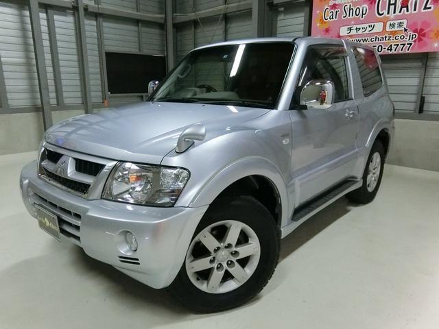 三菱 ショートエシード-II 4WD 背面タイヤ HID 純AW