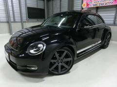 VW ザ・ビートルデザインレザーPKG SR黒本革HDD 外20AWローダウン