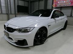 BMWM4クーペ 黒革 FRスポ 外サス外エアロ 外カーボンパーツ