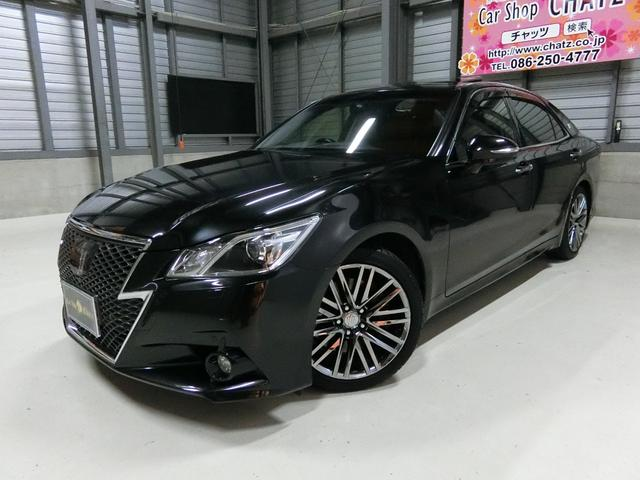 トヨタ アスリートG SR 黒革 HDD 全方位モニターHID純AW