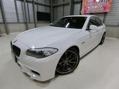 BMW535i 外エアロ20AWローダウンHID SR黒革HDD