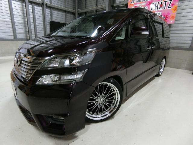 トヨタ 3.5Z 1オーナー エアロ WORK20AW 車高調HID