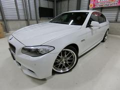 BMW523iMスポーツ ターボ エアロ20AW車高調HDDナビ