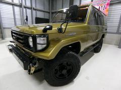 ランドクルーザー70LX 5MT 4WD 4ナンバー SR 外16AWリフトUP