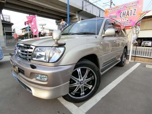 トヨタ VXLTD Gセレ 1ナンバー4WD SR 22AWマフラー