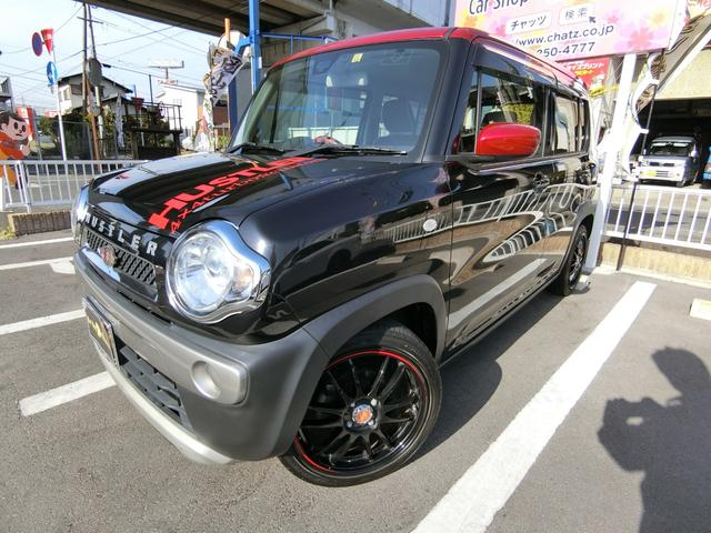 スズキ Gターボ 1オーナー 4WD 外16AW ローダウン HID