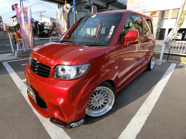 ホンダ スポーツG オーディオ改造 ワンオフエアロ アクスル 車高調