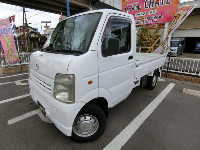マツダ KCスペシャル 4WD Wエアバック パワステ エアコン