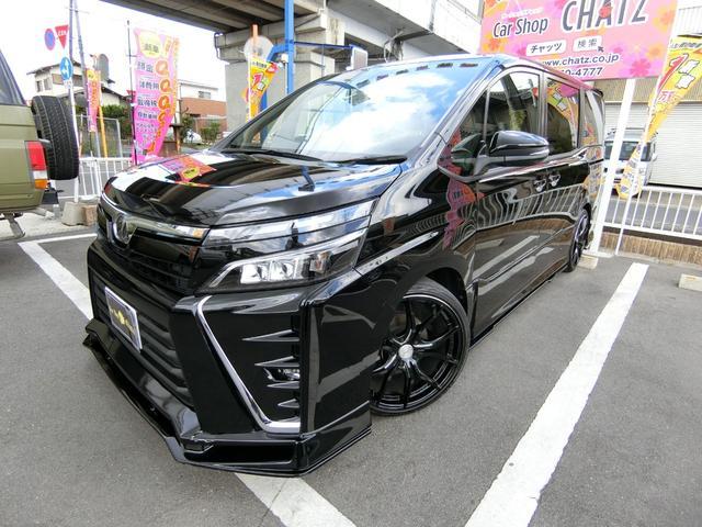 トヨタ ZS 外品エアロ レイズAW ローダウン LED 9型ナビ