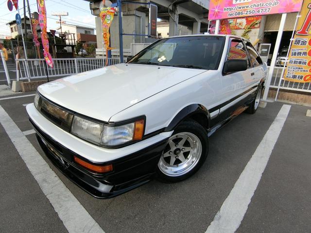 トヨタ GT APEX 5MT 外AW ローダウン マフラーエアクリ