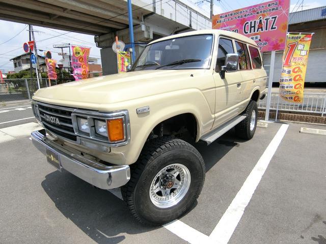 トヨタ VX 1ナンバー Dターボ4WD 外16AWリフトUP ナビ