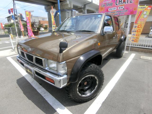 日産 ダブルキャブAD 1ナンバー4WD AWリフトUPオバフェン