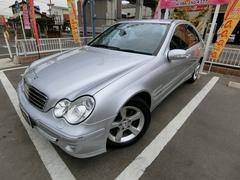 M・ベンツ C230AVG ディーラー車 HDDナビ HID 純16AW