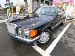 M・ベンツ560SEL ディーラー車 左H SR 本革シート 純AW