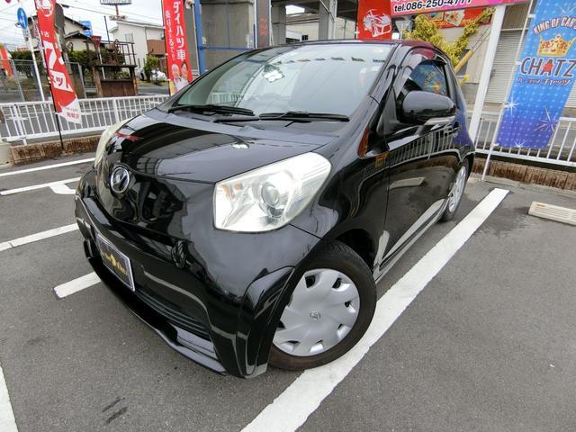 トヨタ iQ 100G フル装備 ABS HID スマートキー CD
