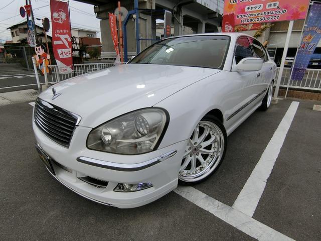 日産 450XV 外20AW車高調マフラー HID 内装貼替 黒革