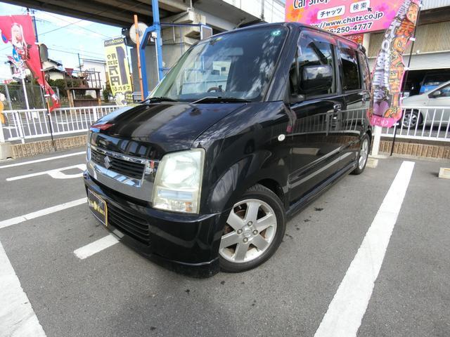 スズキ ワゴンR FX-Sリミテッド エアロ 純AW ローダウン ベンチシート