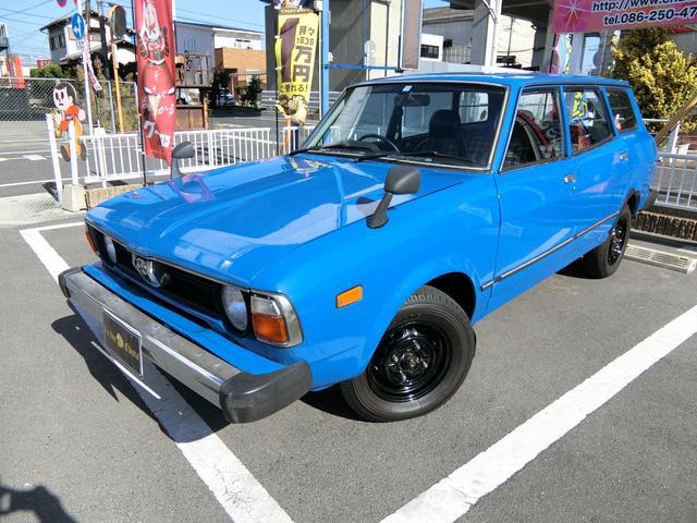 スバル ベースグレード S54年 5MT 4WD フルオリジナル 車庫保管 フェンダーミラー ハーフレザーシート エアコン シャーシブラック