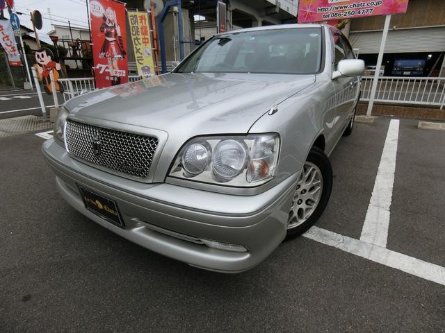 トヨタ アスリートG 1オーナー DVDナビ CD再生 純正16AW HID キーレス パワーシート フル装備 ABS