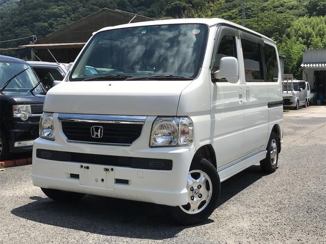 ホンダ L 軽自動車 4WD ホワイト AT AC 両側スライドドア