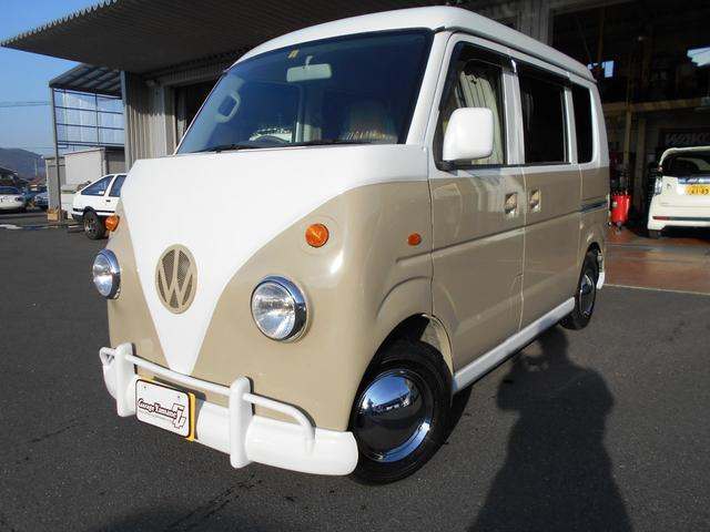 スズキ PA 全国対応保証 レトロバス仕様 革調シートカバー ライト