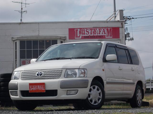 トヨタ サクシードバン ULターボ Xパッケージ 社外ナビ バックカメラ キーレス全席PW 内外装キレイ