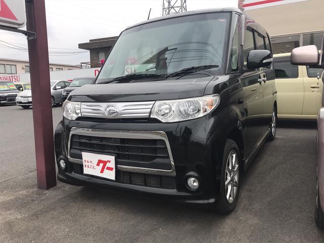 ダイハツ カスタムX 軽自動車 ETC ブラック 整備付 CVT