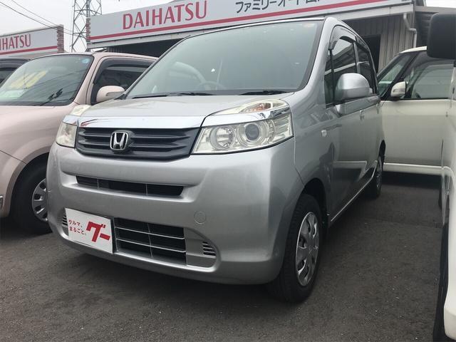 ホンダ G 軽自動車 CD シルバー ベンチシート