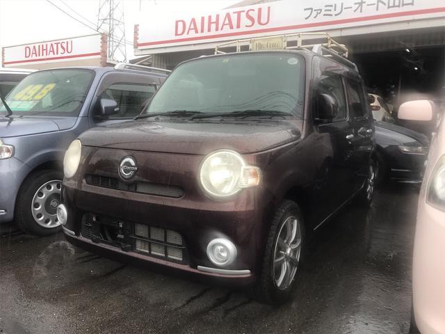 ダイハツ ココアプラスX 軽自動車 プラムブラウンクリスタルマイカ