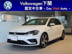 VW ゴルフRベースグレード 試乗車 ナビ ETC バックカメラ LED