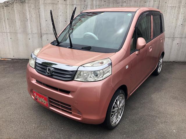 ホンダ G 純正CD 保証付き キーレス インパネAT 軽自動車