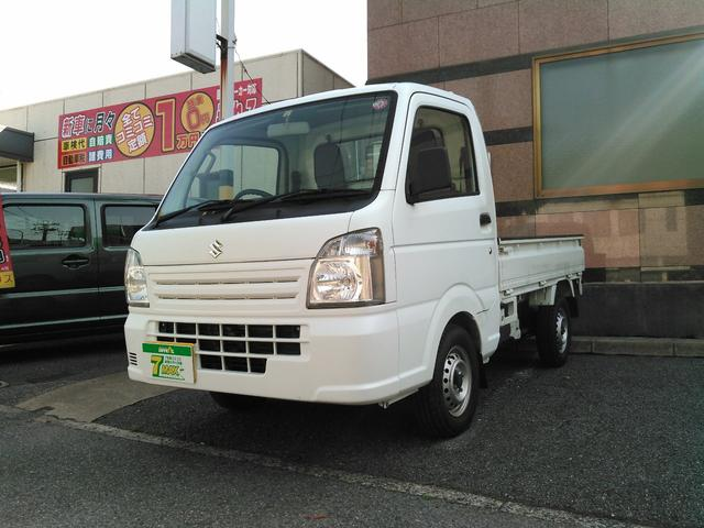 スズキ キャリイトラック KCエアコン・パワステ 当社メンテナンス車