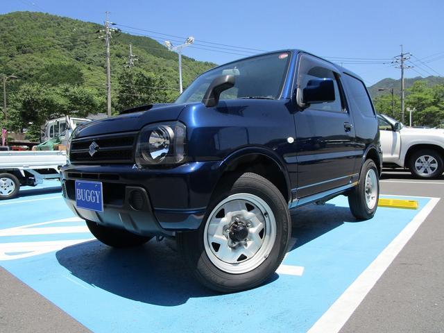 スズキ ジムニー XG 1年保証 4WD 5速ミッション キ-レス パートタイム4WD Wエアバック PW エアバック ABS エアコン