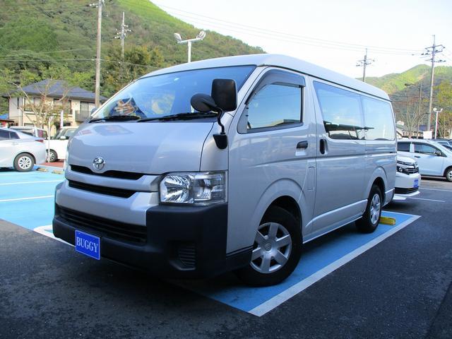 トヨタ DX 10人乗り 左側電動スライドドア ETC ナビ ワンセグTV バックカメラ キーレスキー