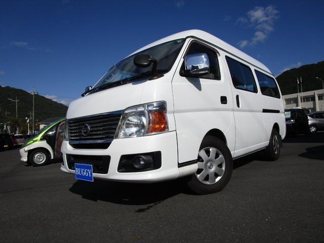 日産 GX 保証付き 10人乗り ETC 電動格納ドアミラー キーレスキー リアクーラー リアヒーター