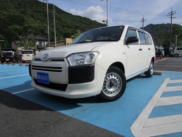 トヨタ プロボックス DXコンフォート 6か月保証 走行35356Km 最大積載量400Kg 社外ナビ ワンセグTV バックカメラ ETC 運転席パワーウィンドウ キーレスキー ABS
