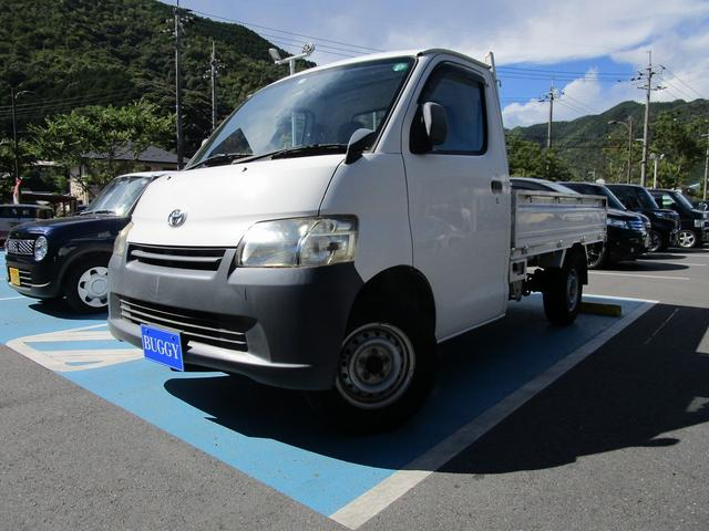 トヨタ タウンエーストラック DX 保証付 5速ミッション 最大積載量800Kg エアコン パワステ エアバッグ ABS ラバー製フロアマット リヤゲートチェーン