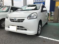 ミライースX ナビ 軽自動車 インパネAT エアコン