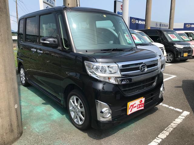 ダイハツ カスタムX ナビ 軽自動車 ETC ブラックマイカメタリック