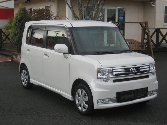 トヨタ カスタム X ワンオーナー・禁煙車・純正Bluetooth対応ナビ・バックカメラ・キーフリー・HIDライト・オートエアコン・ドアミラーウインカー・エコアイドル