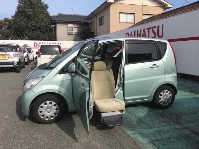 ダイハツ フロントシートリフト 福祉車両 軽自動車 キーレス CD