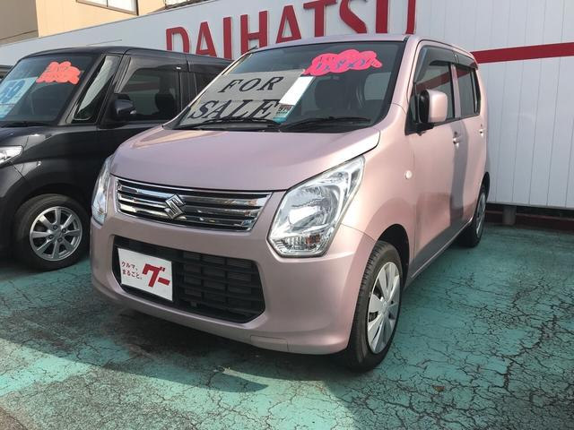 スズキ FX 軽自動車 ピンク AC オーディオ付 ベンチシート