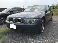 BMW745i ナビ アルミ 革シート 電動リアゲート 安全装備