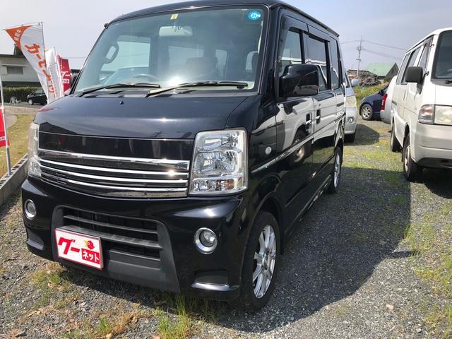 マツダ 軽自動車 ブラック AT AC 両側電動スライドドア AW