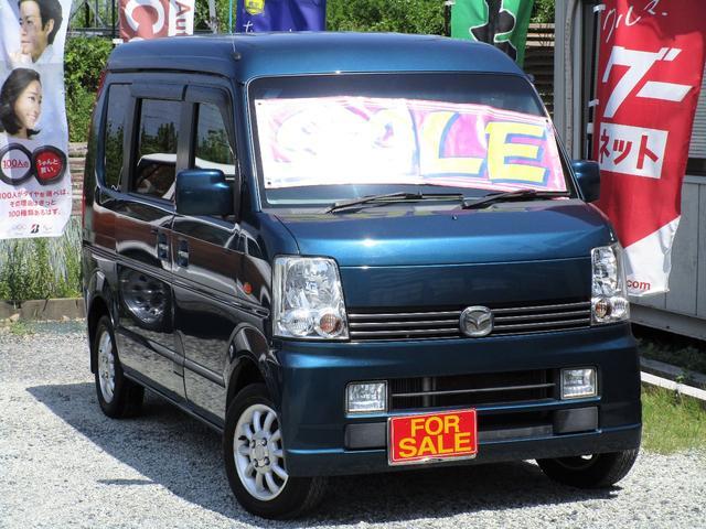 マツダ PXターボ 4WD キーレス 社外ナビ